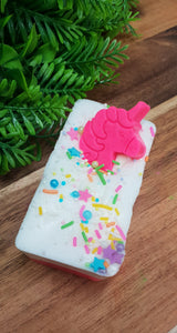 Unicorn Cake Scrub Bar Soap