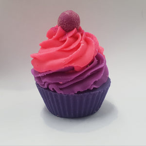 Black Raspberry & Vanilla Cupcake Soap