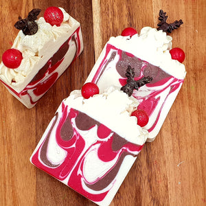 Reindeer Christmas Bar Soap