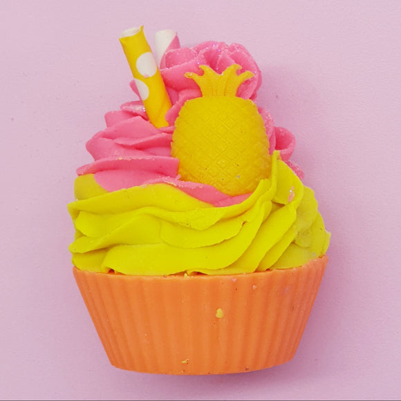 Fruit Salad (Monkey Farts) Cupcake Bar Soap