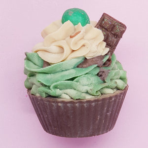 Choc Mint Cupcake Bar Soap