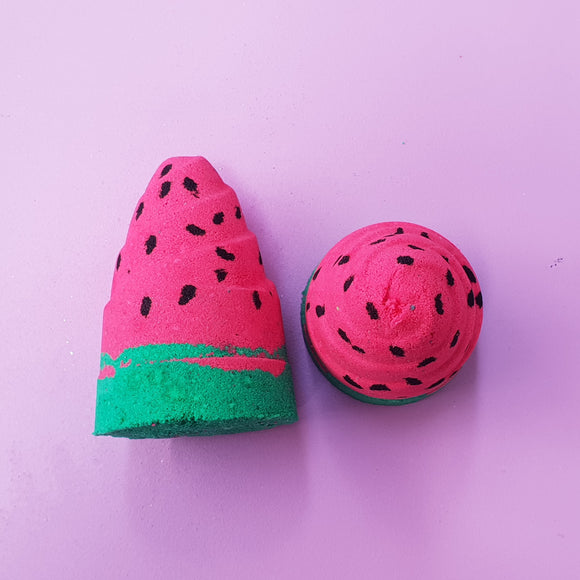 Watermelon Unicorn horn Bath Bomb