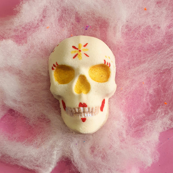 Day of the Dead Skull Bath Bomb Halloween