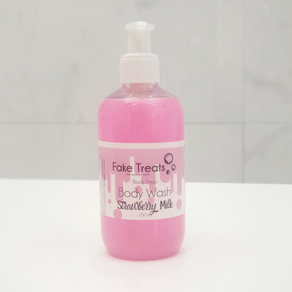 Strawberry Milk Body Syrup Body Wash