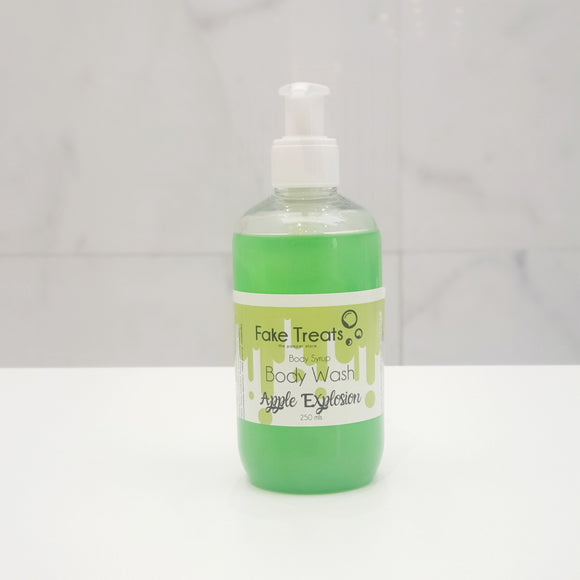 Apple Explosion Body Syrup Body Wash