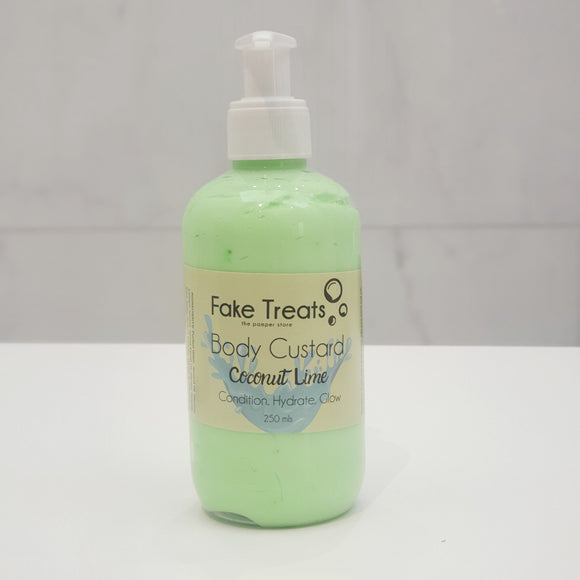 Body Custard Lotion - Coconut Lime