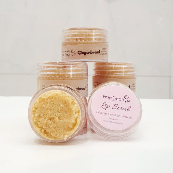 Lip Scrub - Gingerbread