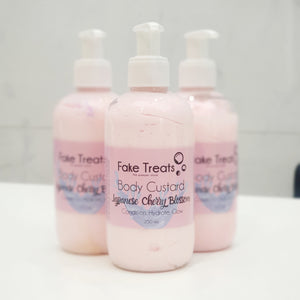 Body Custard Body Lotion - Japanese Cherry Blossom