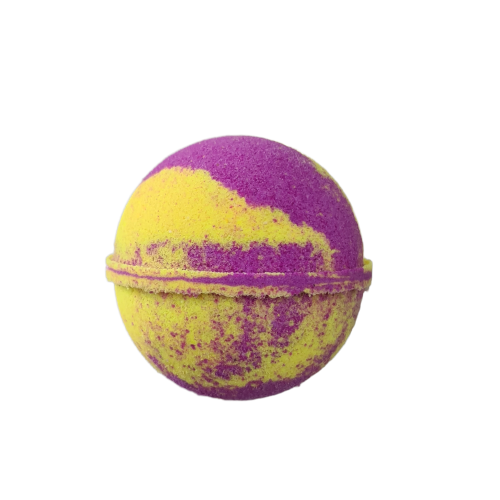 Japanese Honeysuckle bath bomb round