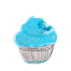Addicted Teal Cupcake Bath Bomb