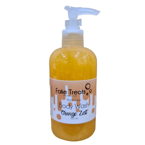 Orange Zest Body Wash Body Syrup