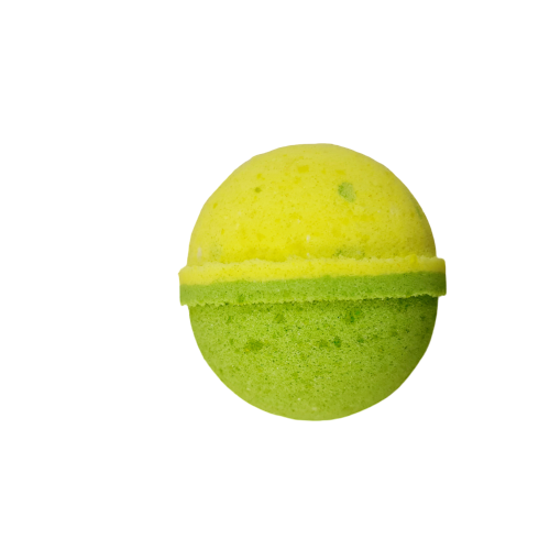 Fresh Ginger and Greentea Bath Bomb