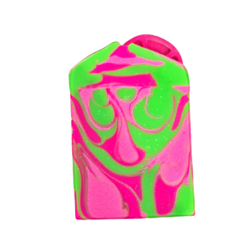 Hot Pink Lime Bar Soap