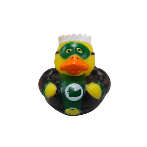 Superhero Green Duckie Duck