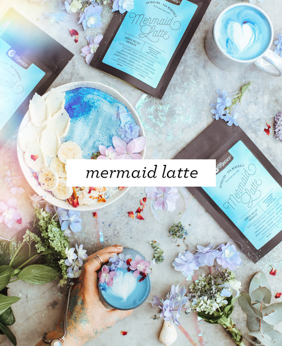 Mermaid Latte- Certified Organic!