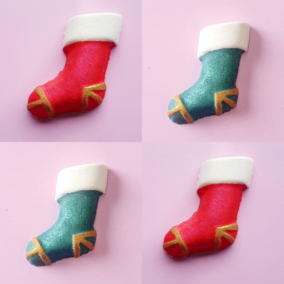 Christmas Stocking Bath Bomb