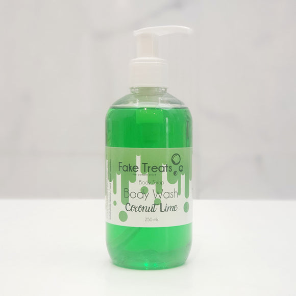 Body Syrup Body Wash - Coconut Lime