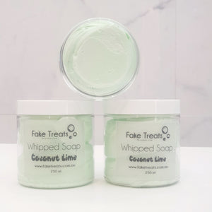 Frosting Whipped Soap - Coconut Lime