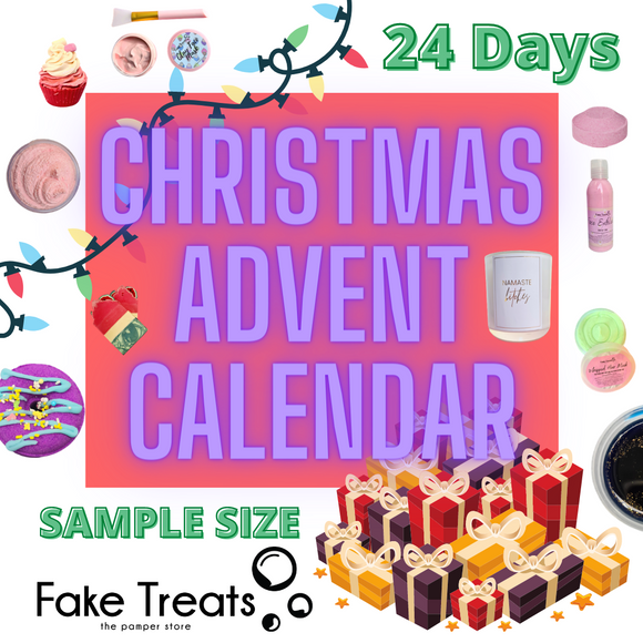 PRE-ORDER ADVENT CALENDAR - SAMPLE SIZE - 24 DAYS
