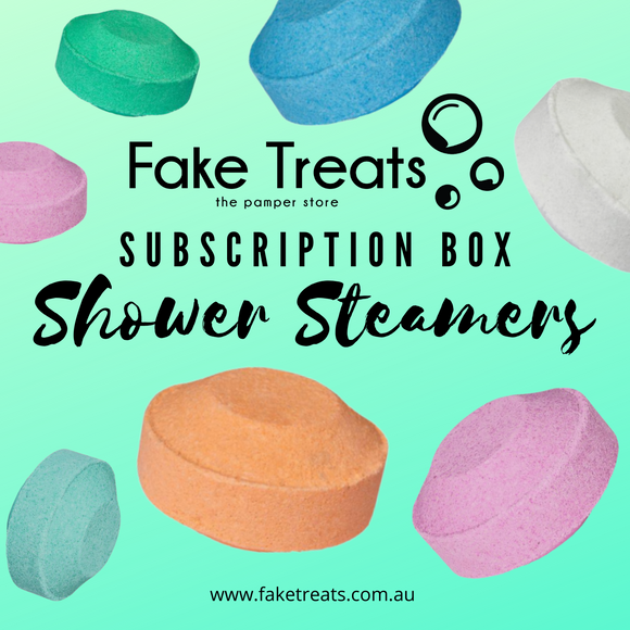 Fake Treats Shower Steamer Bomb Subscription Box