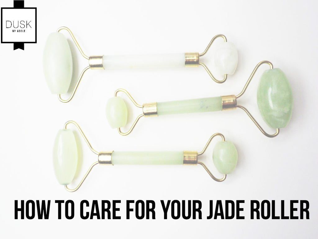 How to care for your Dusk by Adele Jade Roller