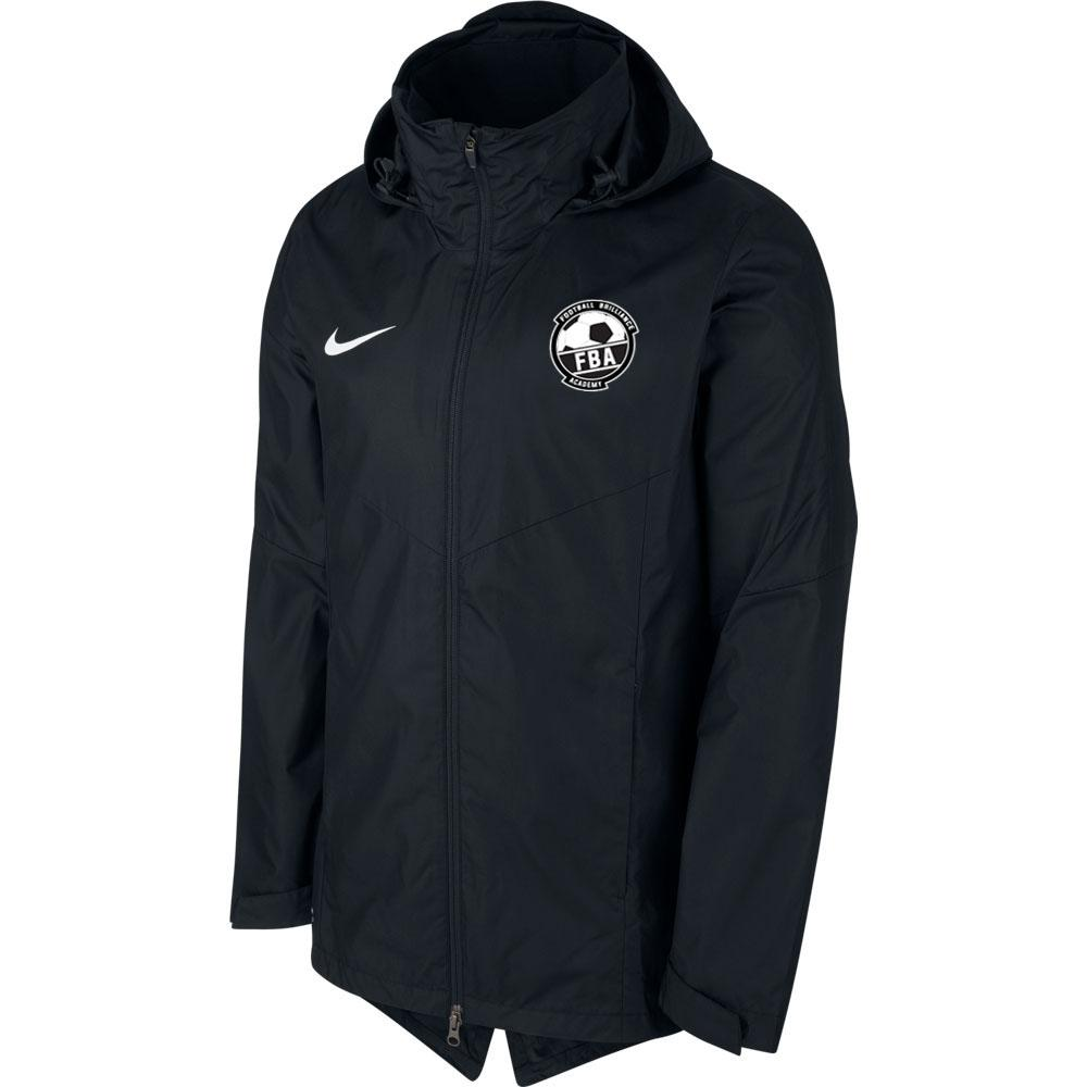 FOOTBALL BRILLIANCE ACADEMY  Youth Nike ACADEMY 18 RAIN JACKET