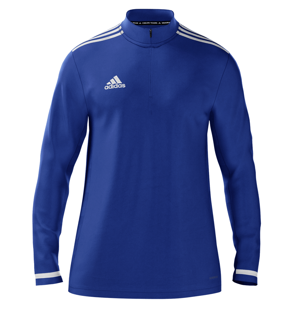 Midlayer 1/4 Zip - Blue White