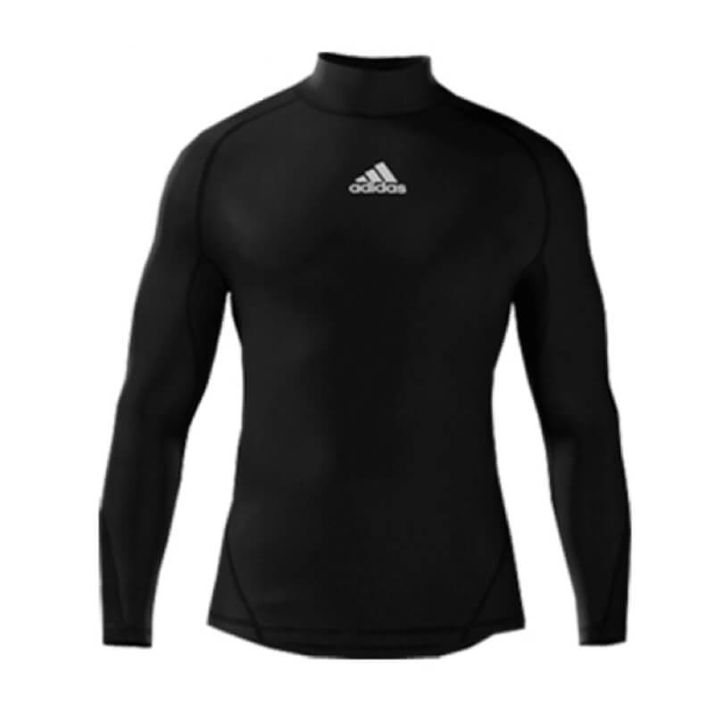 Alphaskin Longsleeve Compression Top Mens - Black