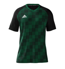 Adidas Cheq Jersey Youth Green Black
