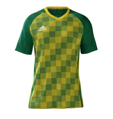 Adidas Cheq Jersey Youth Green Yellow
