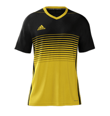 Adidas Gradient Jersey Youth Black Yellow