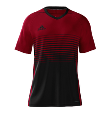 Adidas Gradient Jersey Youth Red Black