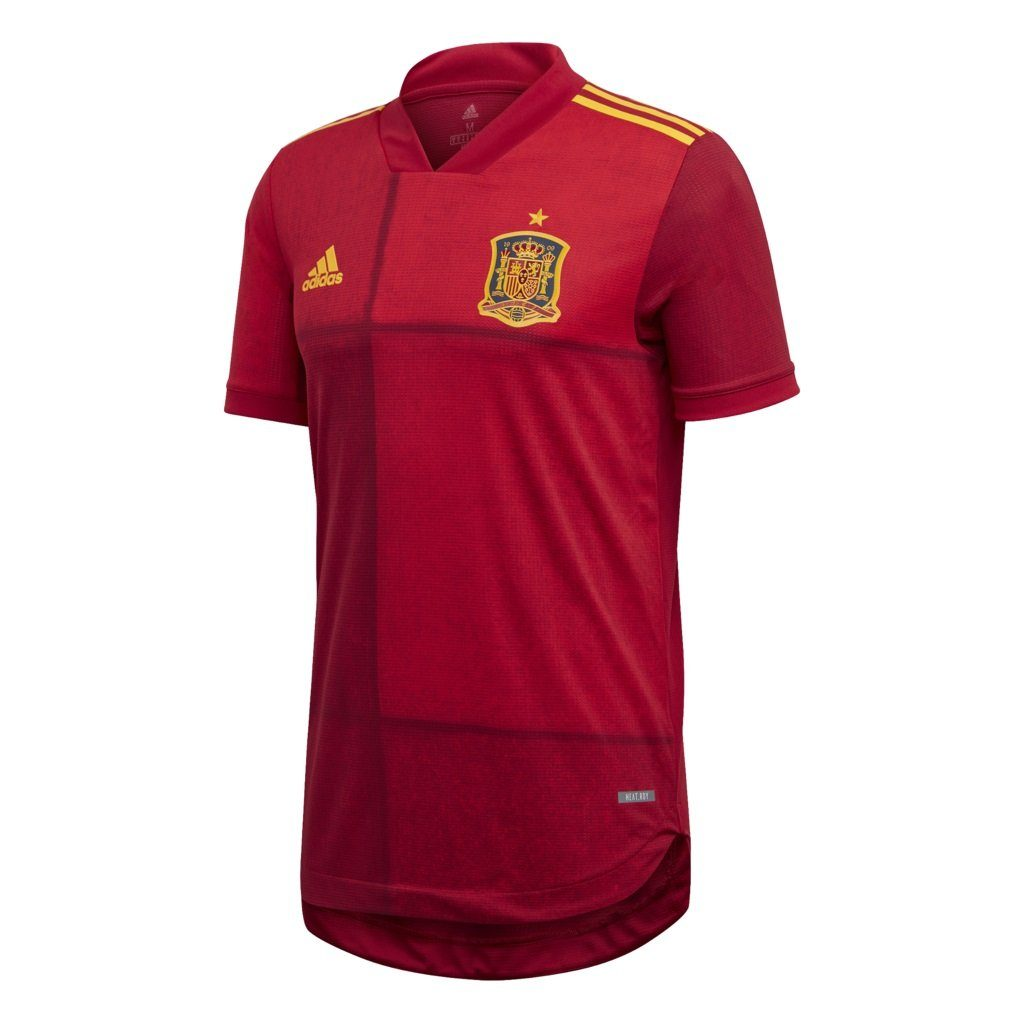 Spain Authentic Home Jersey 19/20