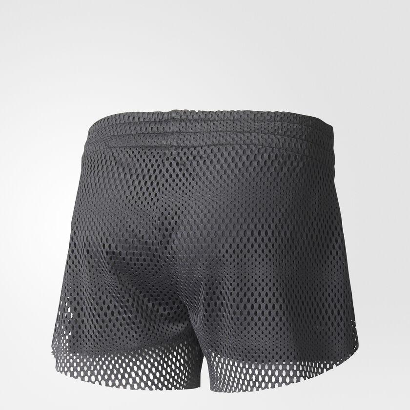 Two in one mesh shorts