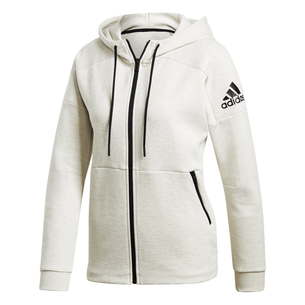 adidas Women?s Hoodie with Zipper Lifestyle