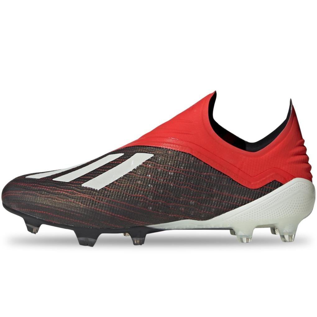 adidas Men's Predator 18+ FG Soccer Cleats Gold Red