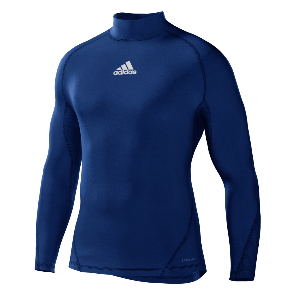 Alphaskin Longsleeve Compression Top Mens - Bold Blue
