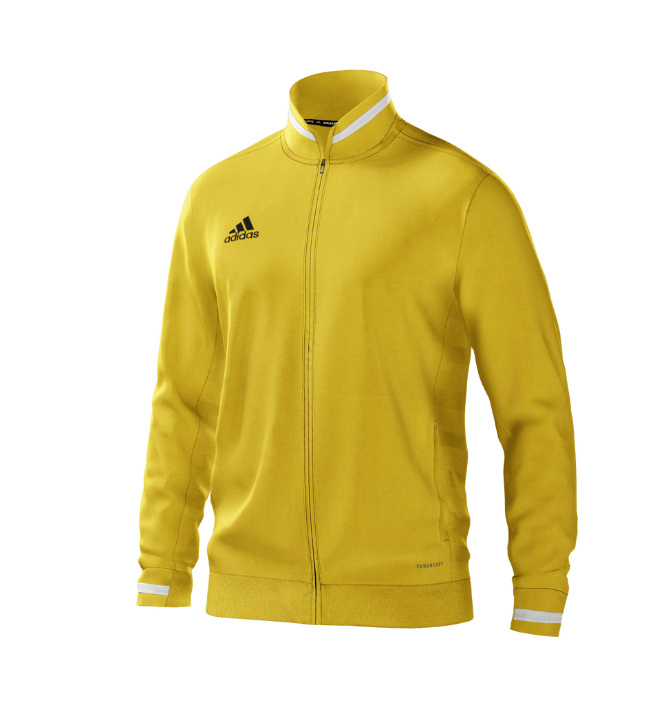 Team 19 Track Jacket Youth    - Yellow white