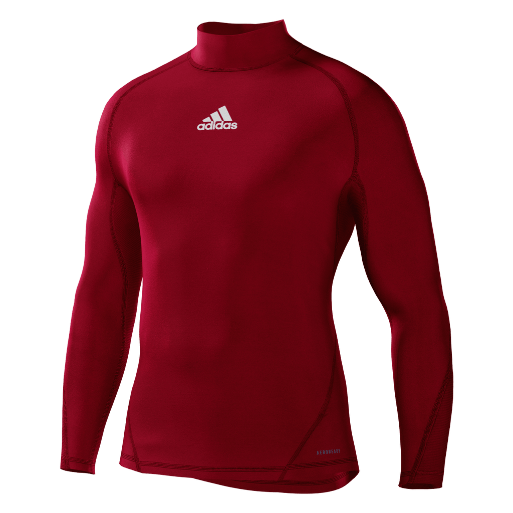Alphaskin Longsleeve Compression Top Mens - Power Red