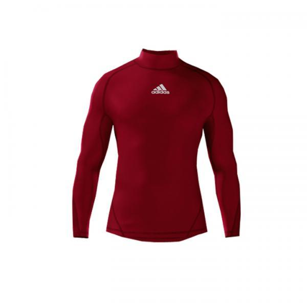 Alphaskin Longsleeve Compression Top Youth - Power Red