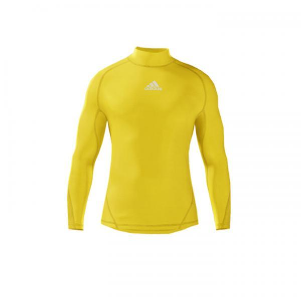 Alphaskin Longsleeve Compression Top Mens - Yellow