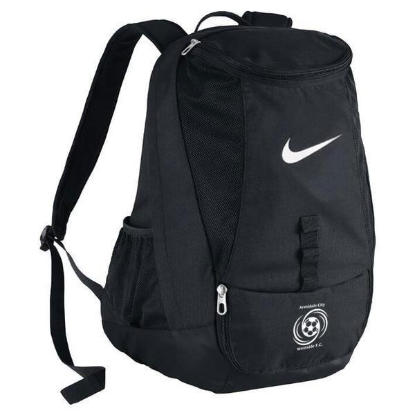 ARMIDALE CITY WESTSIDE FC  Club Team Backpack