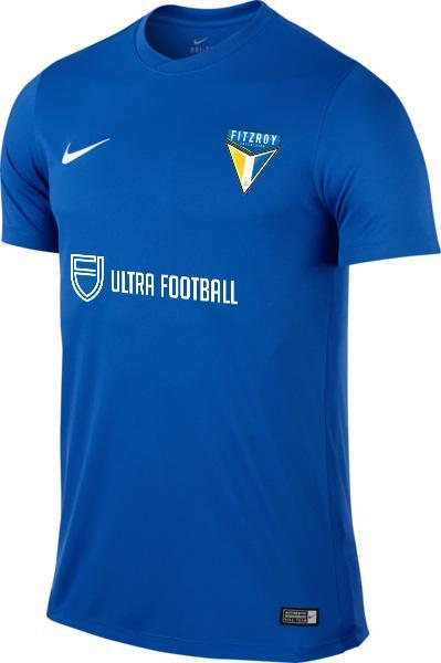 FITZROY FC  Park VI Youth Club Home Jersey