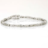 Diamond Tennis Bracelet in 14k White Gold ( 2.00 cttw )