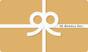 31 Jewels Inc. Gift Card - 31 Jewels Inc.