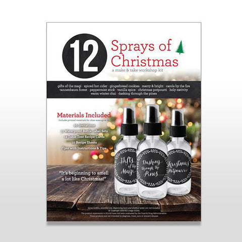 12 Sprays of Christmas Workshop Make & Take Kit
