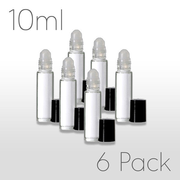 10 ml Roller Bottles - Set of 6