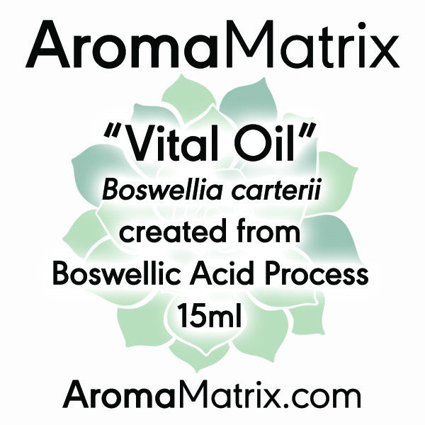 """Vital Oil"" Boswellic Acid Process Essential Oil"