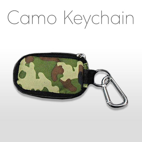 Camo Keychain Oil Holder