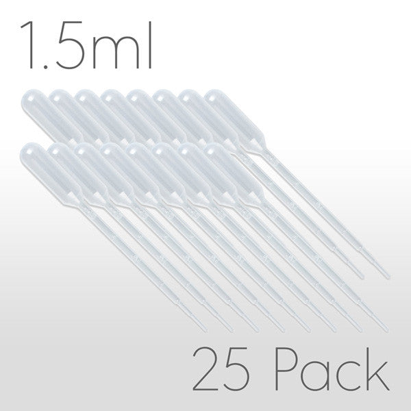 1.5ml Disposable Pipette - 25 Pack